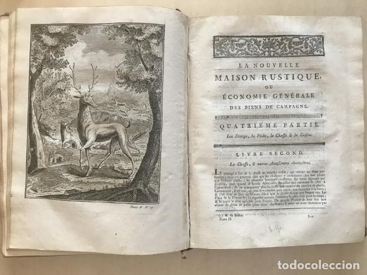 Libros antiguos: La nouvelle Maison rustique..., 2 tomos (IyII), 1790. L. Liger. Posee 41grabados y figuras - Foto 53 - 198399371