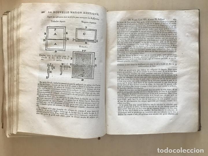 Libros antiguos: La nouvelle Maison rustique..., 2 tomos (IyII), 1790. L. Liger. Posee 41grabados y figuras - Foto 56 - 198399371