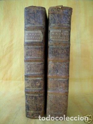 Libros antiguos: La nouvelle Maison rustique..., 2 tomos (IyII), 1790. L. Liger. Posee 41grabados y figuras - Foto 60 - 198399371