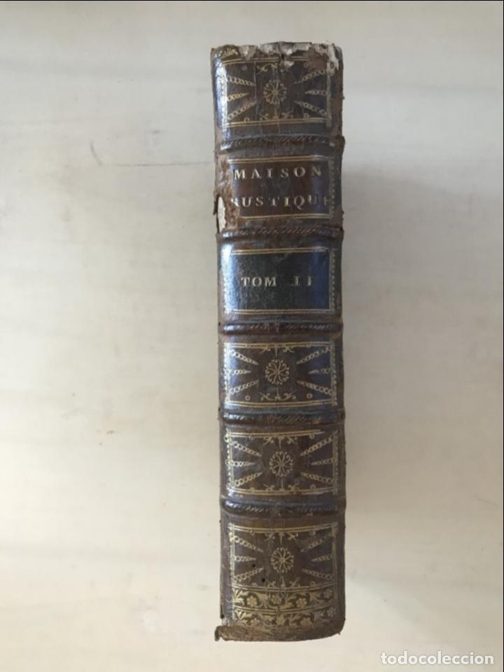 Libros antiguos: LA NOUVELLE MAISON RUSTIQUE ..Tomo II, 1798. J-F- Bastien. Posee 18 grabados. - Foto 3 - 198405088
