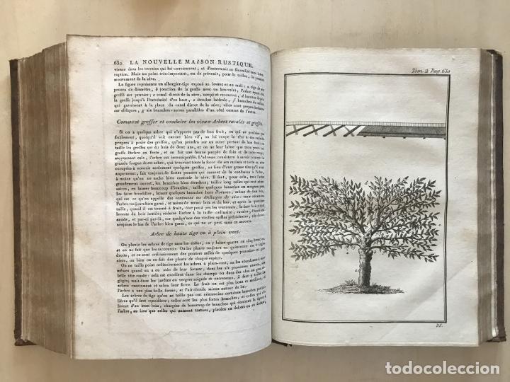 LA NOUVELLE MAISON RUSTIQUE ..TOMO II, 1798. J-F- BASTIEN. POSEE 18 GRABADOS. (Libros Antiguos, Raros y Curiosos - Ciencias, Manuales y Oficios - Biología y Botánica)