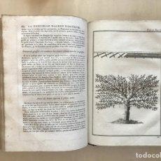 Libros antiguos: LA NOUVELLE MAISON RUSTIQUE ..TOMO II, 1798. J-F- BASTIEN. POSEE 18 GRABADOS.. Lote 198405088
