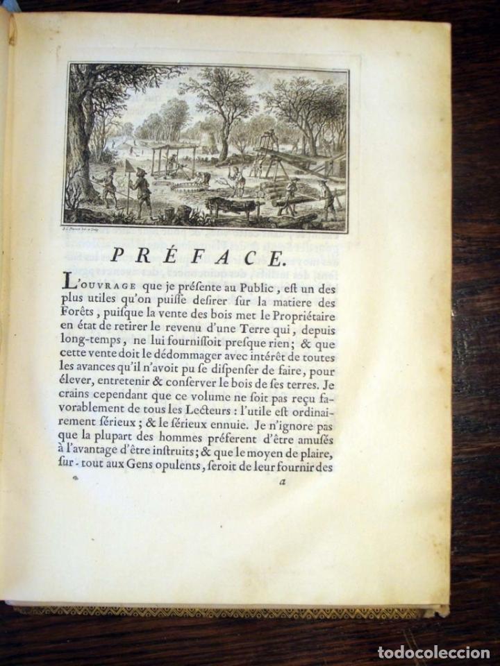 Libros antiguos: De l exploitation des bois, ou moyens..., Tomo I y II , 1764. Duhamel du Monceau. Posee 36 grabados - Foto 4 - 198416221