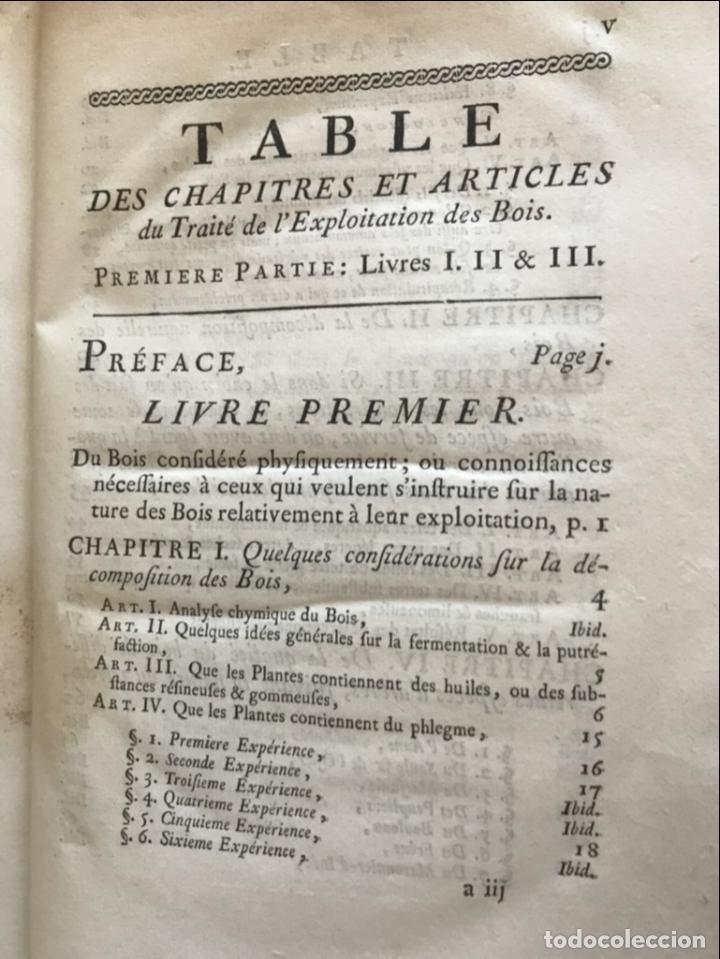 Libros antiguos: De l exploitation des bois, ou moyens..., Tomo I y II , 1764. Duhamel du Monceau. Posee 36 grabados - Foto 10 - 198416221