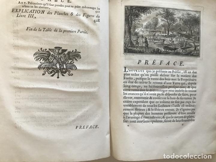 Libros antiguos: De l exploitation des bois, ou moyens..., Tomo I y II , 1764. Duhamel du Monceau. Posee 36 grabados - Foto 16 - 198416221