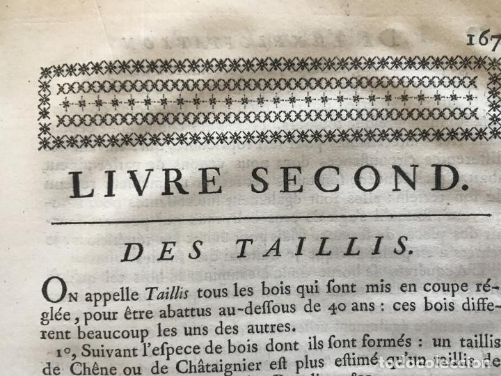 Libros antiguos: De l exploitation des bois, ou moyens..., Tomo I y II , 1764. Duhamel du Monceau. Posee 36 grabados - Foto 19 - 198416221