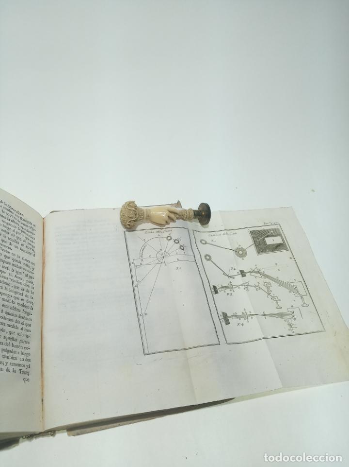 Libros antiguos: Espectáculo de la naturaleza. Historia natural. Abab M. Pluche. Tomo VII. Madrid. 1771. Imp. Pedro M - Foto 8 - 198489887