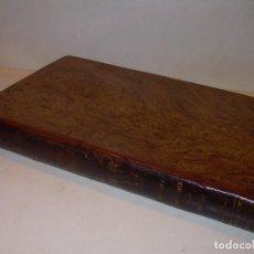 Libros antiguos: LIBRO TAPAS DE PIEL MINERALOGIA Y GEOLOGIA......AÑO.1870.....CON ILUSTRACIONES.. Lote 198734807