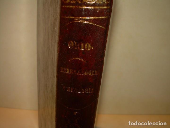 Libros antiguos: LIBRO TAPAS DE PIEL MINERALOGIA Y GEOLOGIA......AÑO.1870.....CON ILUSTRACIONES. - Foto 4 - 198734807