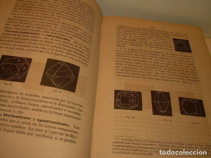 Libros antiguos: LIBRO TAPAS DE PIEL MINERALOGIA Y GEOLOGIA......AÑO.1870.....CON ILUSTRACIONES. - Foto 7 - 198734807