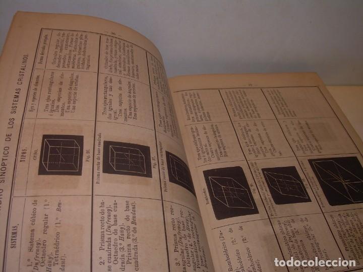 Libros antiguos: LIBRO TAPAS DE PIEL MINERALOGIA Y GEOLOGIA......AÑO.1870.....CON ILUSTRACIONES. - Foto 9 - 198734807