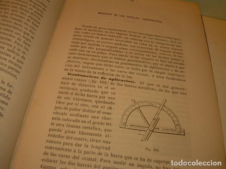 Libros antiguos: LIBRO TAPAS DE PIEL MINERALOGIA Y GEOLOGIA......AÑO.1870.....CON ILUSTRACIONES. - Foto 13 - 198734807