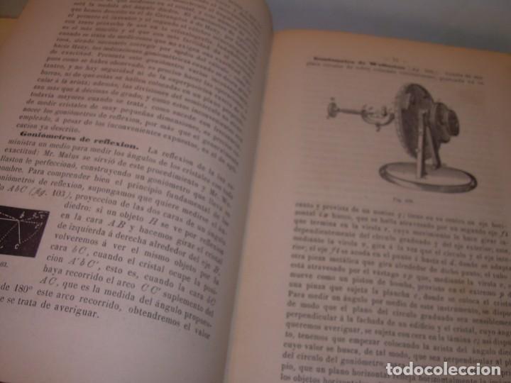 Libros antiguos: LIBRO TAPAS DE PIEL MINERALOGIA Y GEOLOGIA......AÑO.1870.....CON ILUSTRACIONES. - Foto 14 - 198734807