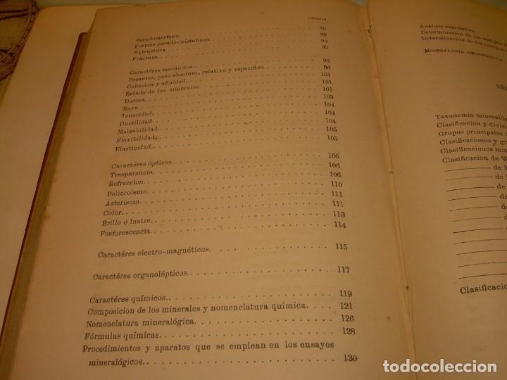 Libros antiguos: LIBRO TAPAS DE PIEL MINERALOGIA Y GEOLOGIA......AÑO.1870.....CON ILUSTRACIONES. - Foto 30 - 198734807