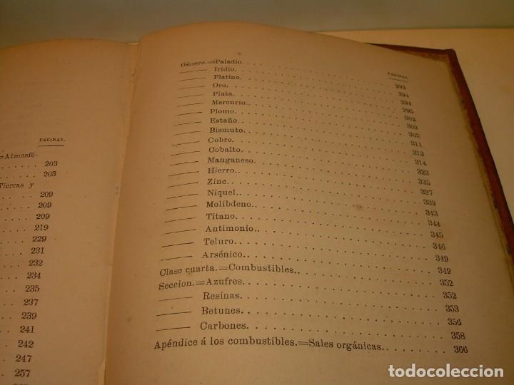 Libros antiguos: LIBRO TAPAS DE PIEL MINERALOGIA Y GEOLOGIA......AÑO.1870.....CON ILUSTRACIONES. - Foto 33 - 198734807