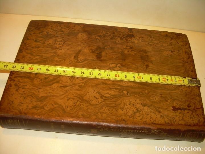 Libros antiguos: LIBRO TAPAS DE PIEL MINERALOGIA Y GEOLOGIA......AÑO.1870.....CON ILUSTRACIONES. - Foto 36 - 198734807