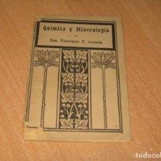 Libros antiguos: QUIMICA Y MINERALOGIA. Lote 199943240