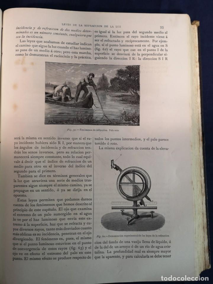 Libros antiguos: EL MUNDO FISICO.EDITORIAL MONTANER Y SIMON 1882 - Foto 4 - 200282402