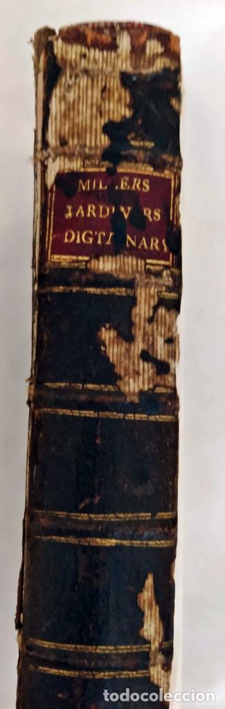 Libros antiguos: AÑO 1754: DICCIONARIO DE LOS JARDINEROS: ÁRBOLES, FLORES, PLANTAS...LONDRES. - Foto 14 - 200296106