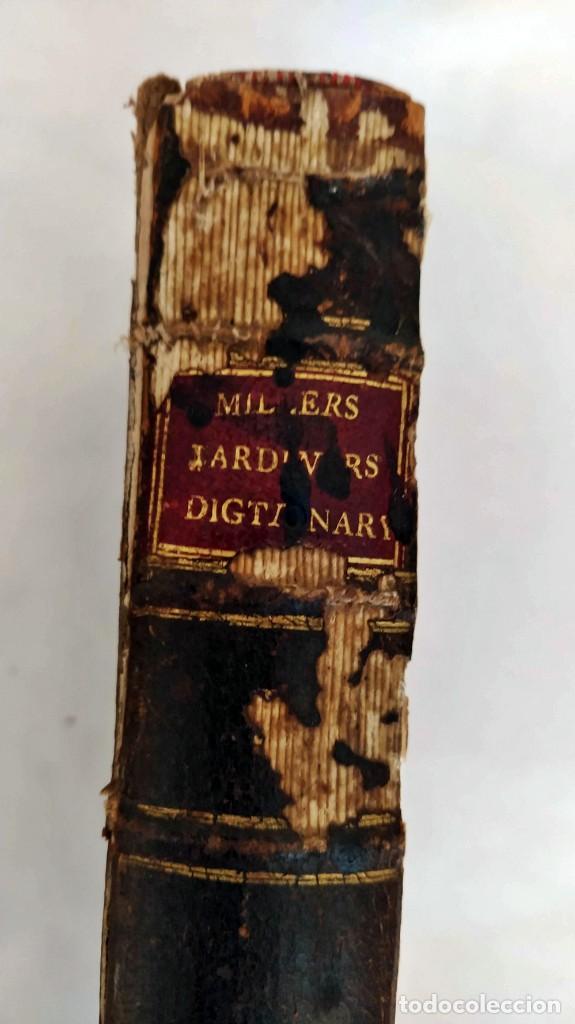 Libros antiguos: AÑO 1754: DICCIONARIO DE LOS JARDINEROS: ÁRBOLES, FLORES, PLANTAS...LONDRES. - Foto 15 - 200296106