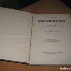 Libros antiguos: TRATADO DE ANATOMIA TOPOGRAFICA DEL CABALLO. Lote 201150407