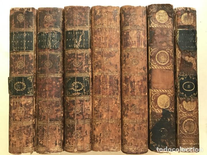 NATURAL HISTORY GENERAL..., 7 TOMOS, 1985 Y 1991. BUFFON/WILLIAM SMELLIE. 291 GRABADOS (Libros Antiguos, Raros y Curiosos - Ciencias, Manuales y Oficios - Biología y Botánica)