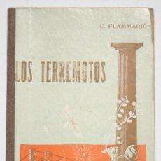 Libros antiguos: LOS TERREMOTOS TOMO I - JOSÉ COMAPOSADA. Lote 202689963
