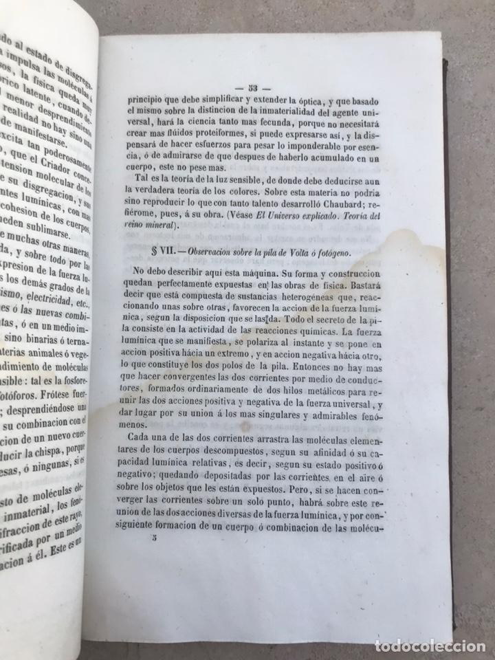 Libros antiguos: Tratado de cosgomonía y geología 1854. Libro siglo XIX - Foto 2 - 202868390