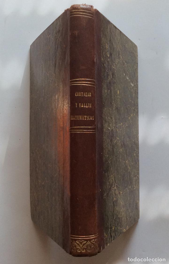 TRATADO DE GEOMETRIA ELEMENTAL. Y ELEMENTOS DE MATEMATICAS JUAN CORTÁZAR. 1852/1853 (Libros Antiguos, Raros y Curiosos - Ciencias, Manuales y Oficios - Física, Química y Matemáticas)