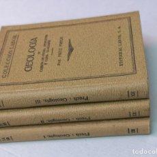 Libros antiguos: GEOLOGÍA COLECCIÓN LABOR 3 TOMOS 1936. Lote 204654652
