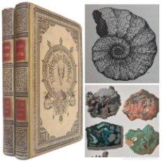Libros antiguos: 1894. MINERALOGÍA, GEOLOGÍA, PALEONTOLOGÍA - MINERALES, CRISTALES, FÓSILES - ILUSTRADO - H.ª NATURAL. Lote 205237498