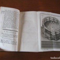 Libros antiguos: LEÇONS DE PHYSIQUE EXPERIMENTALE. TOMO VI, 1743. J-A. NOLLET. BIEN ILUSTRADO.. Lote 207027386