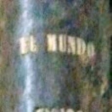 Libros antiguos: EL MUNDO FÍSICO, TOMO III, AMADEO GUILLEMÍN, MONTANER Y SIMON EDITORES, BARCELONA 1883. Lote 207040826