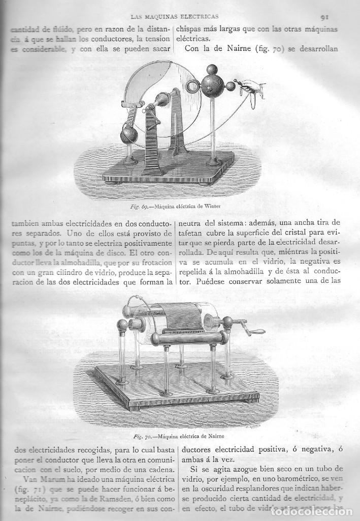Libros antiguos: EL MUNDO FÍSICO, TOMO III, AMADEO GUILLEMÍN, MONTANER Y SIMON EDITORES, BARCELONA 1883 - Foto 3 - 207040826