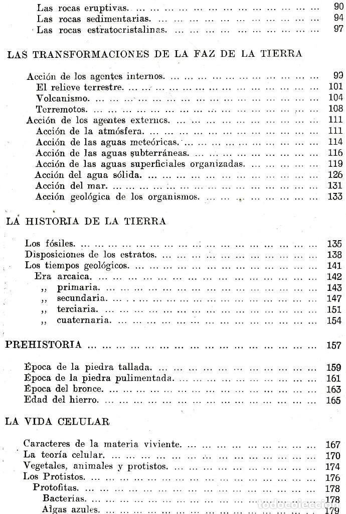 Libros antiguos: AÑO 1935 - BIBLIOTECA HISPANIA. HISTORIA NATURAL. CELSO AREVALO. ED. SOPENA. - Foto 9 - 207404705