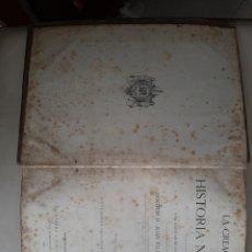 Libros antiguos: LA CREACION HISTORIA NATURAL TOMO VIII MINEROLOGIA GEOLOGIA PLANETOLOGIA JUAN VILANOVA 1876. Lote 207596765