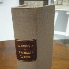 Libros antiguos: ALBERTO SEGOVIA CORRALES. ZOOLOGIA GENERAL CON PRINCIPIOS DE PARASITOLOGIA. Lote 207988912