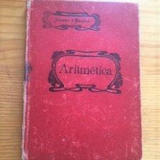 Libros antiguos: LIBRO DE ARITMETICA, SALINAS Y BENITEZ, EDICIÓN 1918. Lote 208046568