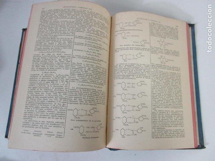 Libros antiguos: Enciclopedia de Química Industrial - Sir Edward Thorpe - Tomos V,VI - Ed Labor - Año 1923 - Foto 5 - 208228715