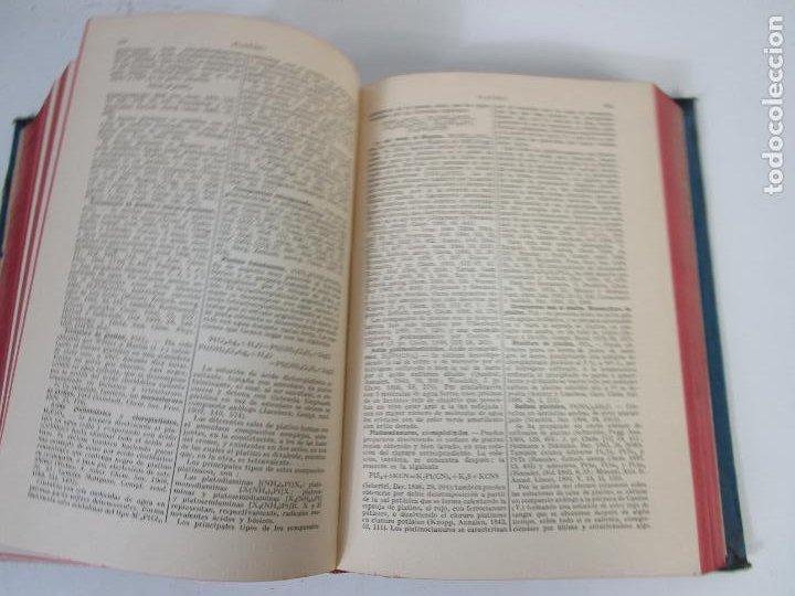 Libros antiguos: Enciclopedia de Química Industrial - Sir Edward Thorpe - Tomos V,VI - Ed Labor - Año 1923 - Foto 6 - 208228715