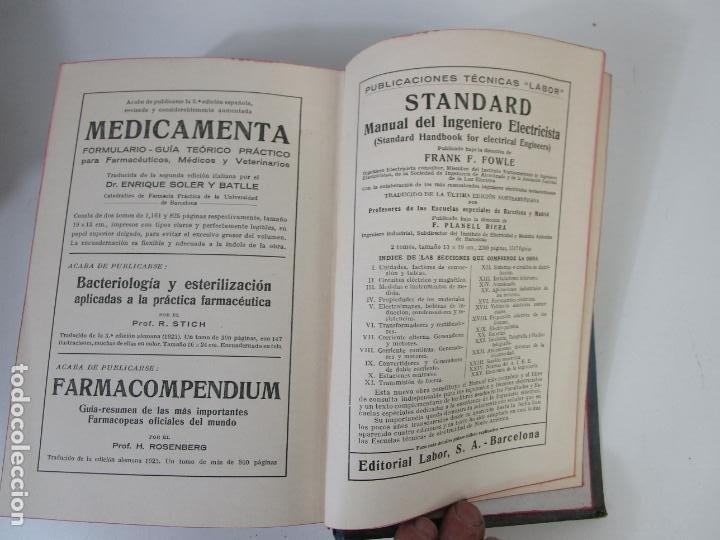 Libros antiguos: Enciclopedia de Química Industrial - Sir Edward Thorpe - Tomos V,VI - Ed Labor - Año 1923 - Foto 11 - 208228715
