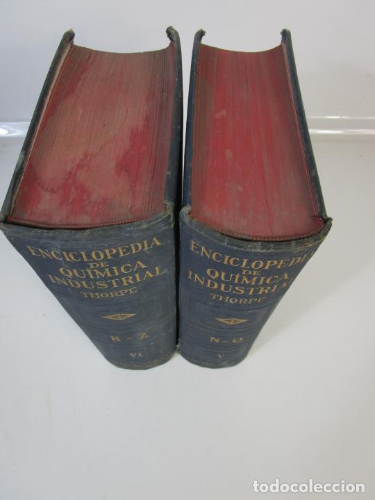 Libros antiguos: Enciclopedia de Química Industrial - Sir Edward Thorpe - Tomos V,VI - Ed Labor - Año 1923 - Foto 13 - 208228715