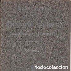 Libros antiguos: LIBRO DE NUEVO MUSEO DE HISTORIA NATURAL.VEGETALES. EDITADO EN 1907.. Lote 208403857