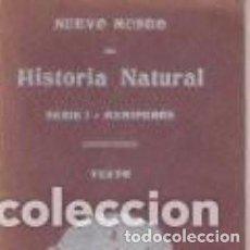 Libros antiguos: LIBRO DE NUEVO MUSEO DE HISTORIA NATURAL. MAMIFEROS. Lote 208405823