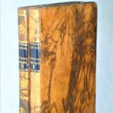 Libros antiguos: RECREACIONES QUÍMICAS, O COLECCIÓN DE ESPERIENCIAS CURIOSAS É INSTRUCTIVAS. 2 TOMOS. Lote 208995603