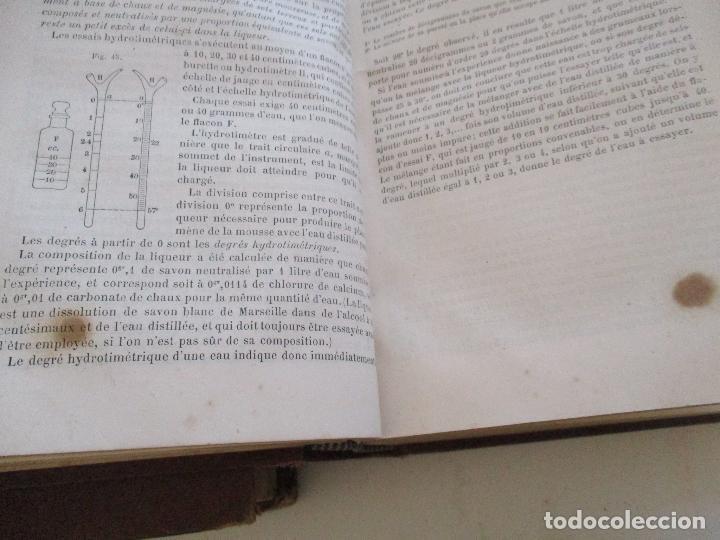 Libros antiguos: FORMULES, TABLES ET RENSEIGNEMENTS PRATIQUES-S/F-AIDE-MÉMOIRE-2 TOMOS - Foto 14 - 209145460