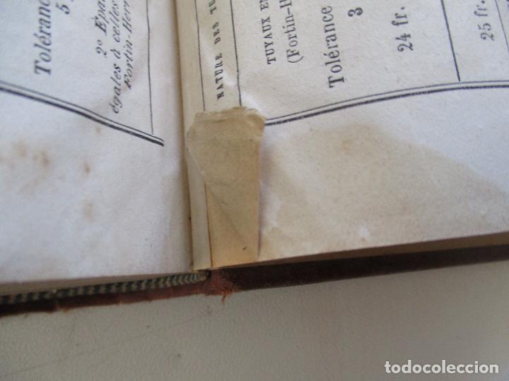 Libros antiguos: FORMULES, TABLES ET RENSEIGNEMENTS PRATIQUES-S/F-AIDE-MÉMOIRE-2 TOMOS - Foto 19 - 209145460