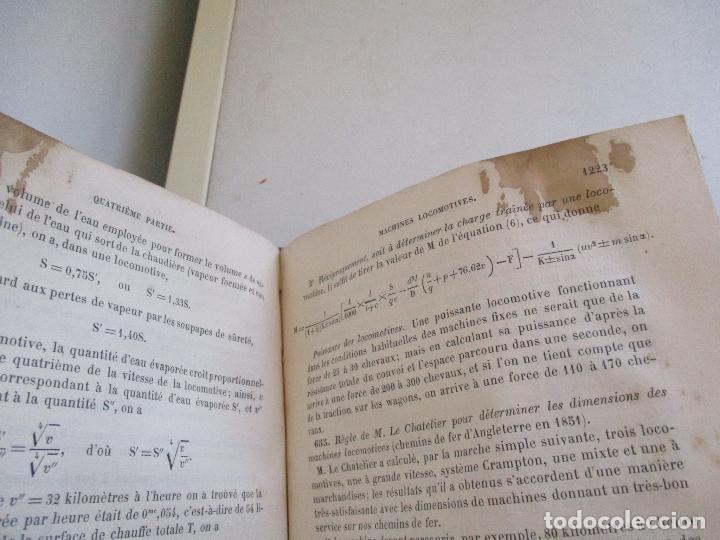 Libros antiguos: FORMULES, TABLES ET RENSEIGNEMENTS PRATIQUES-S/F-AIDE-MÉMOIRE-2 TOMOS - Foto 24 - 209145460