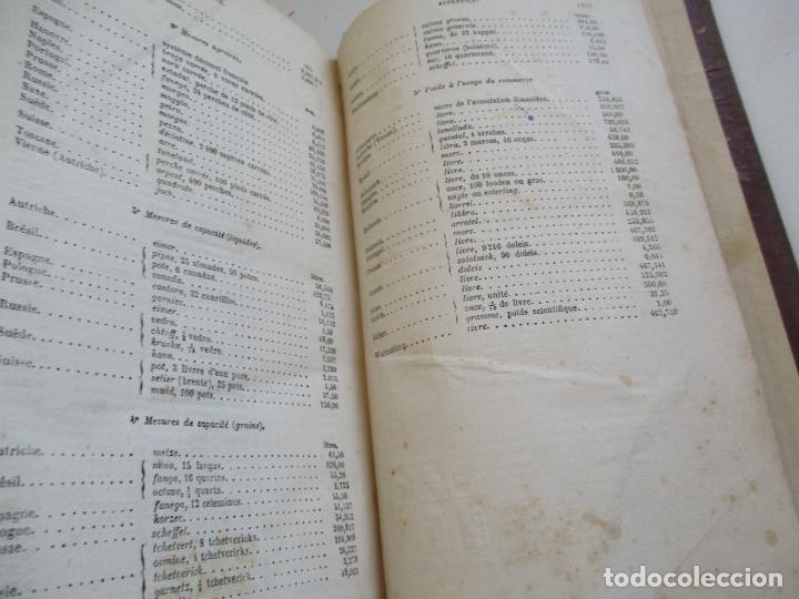 Libros antiguos: FORMULES, TABLES ET RENSEIGNEMENTS PRATIQUES-S/F-AIDE-MÉMOIRE-2 TOMOS - Foto 26 - 209145460