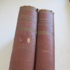 Libros antiguos: FORMULES, TABLES ET RENSEIGNEMENTS PRATIQUES-S/F-AIDE-MÉMOIRE-2 TOMOS. Lote 209145460